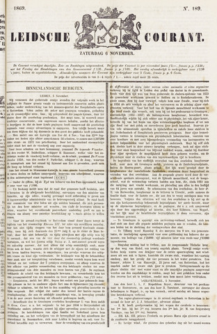 Leydse Courant 1869-11-06