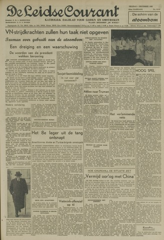 Leidse Courant 1950-12-01