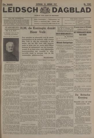 Leidsch Dagblad 1937-01-16