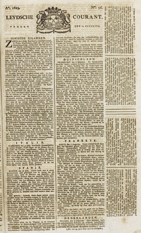 Leydse Courant 1825-08-12