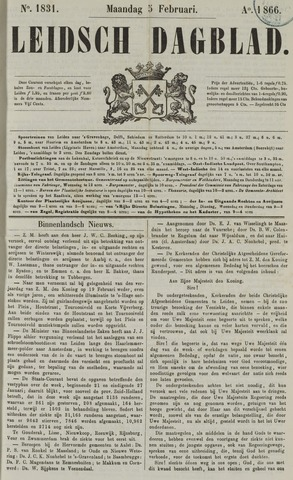 Leidsch Dagblad 1866-02-05