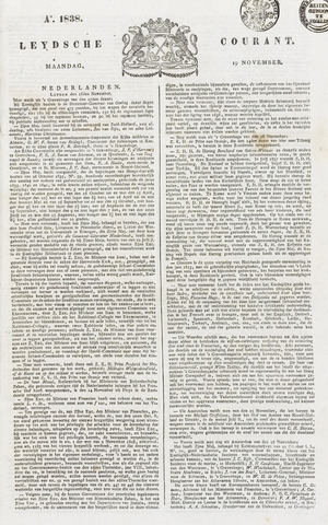Leydse Courant 1838-11-19
