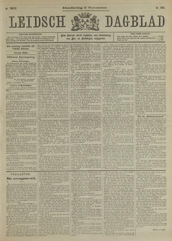 Leidsch Dagblad 1911-11-02