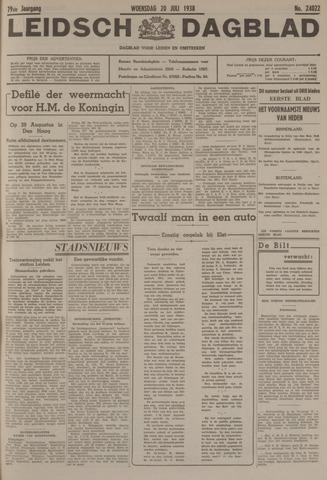 Leidsch Dagblad 1938-07-20