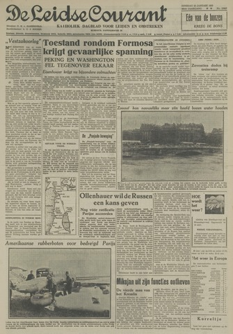 Leidse Courant 1955-01-25