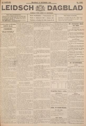 Leidsch Dagblad 1928-11-12