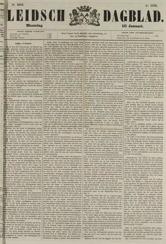 Leidsch Dagblad 1870-01-10