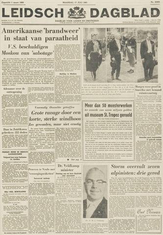 Leidsch Dagblad 1961-07-17