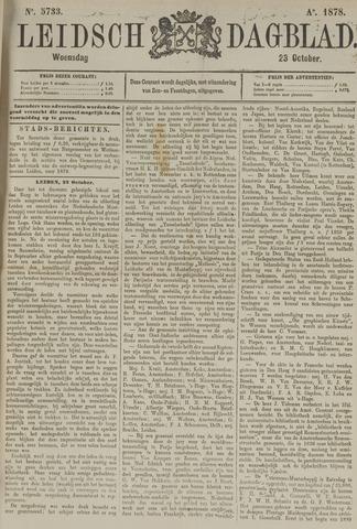 Leidsch Dagblad 1878-10-23