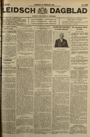Leidsch Dagblad 1932-02-20