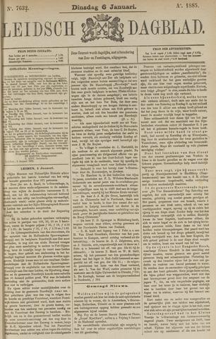 Leidsch Dagblad 1885-01-06