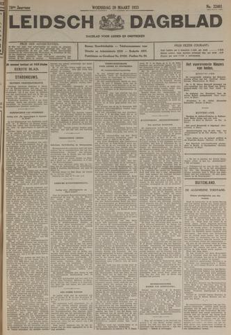 Leidsch Dagblad 1933-03-29