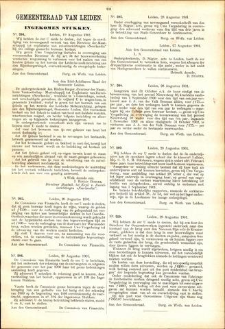Handelingen van de Raad 1901-08-19