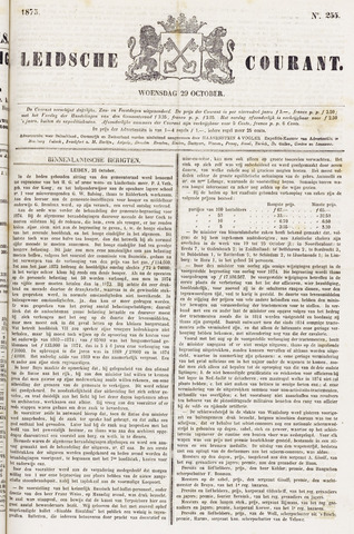 Leydse Courant 1873-10-29