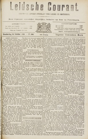 Leydse Courant 1889-10-31