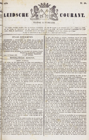 Leydse Courant 1879-02-14