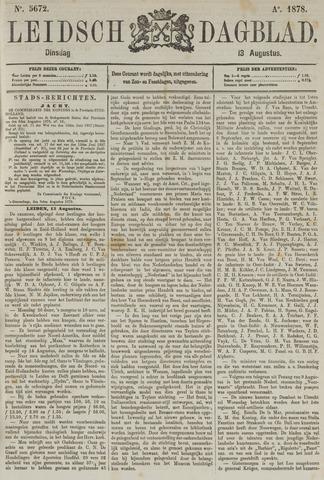 Leidsch Dagblad 1878-08-13