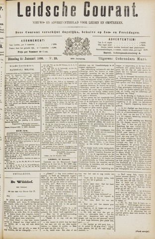 Leydse Courant 1890-01-28