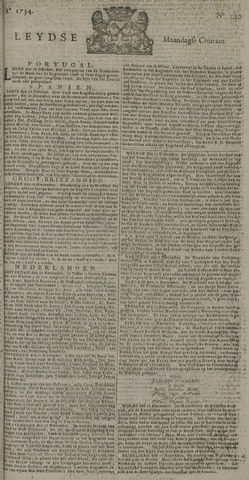 Leydse Courant 1734-11-24