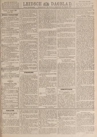 Leidsch Dagblad 1919-01-14