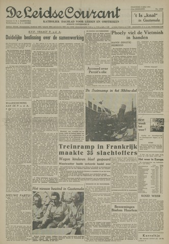 Leidse Courant 1954-07-05