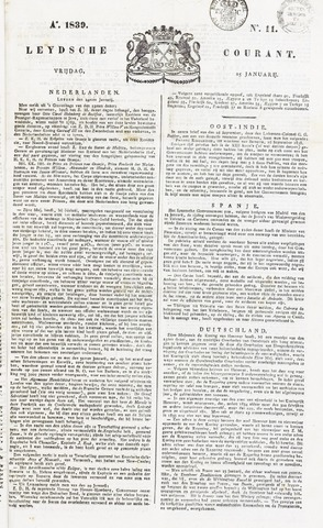 Leydse Courant 1839-01-25