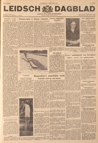 Leidsch Dagblad 1947-02-01