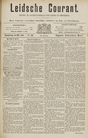 Leydse Courant 1885-05-28