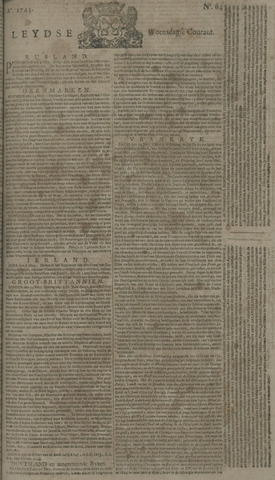 Leydse Courant 1743-05-29