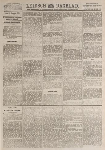 Leidsch Dagblad 1919-09-19