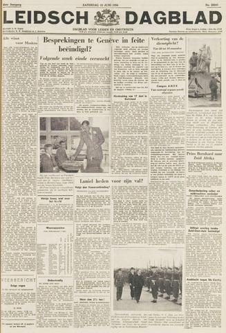 Leidsch Dagblad 1954-06-12