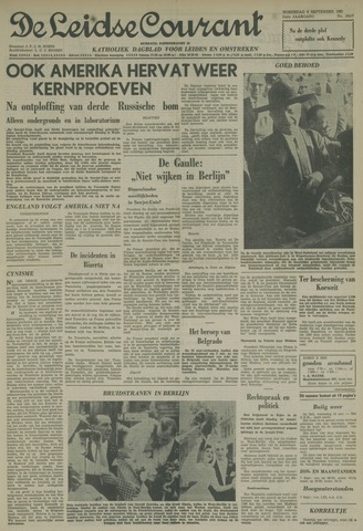 Leidse Courant 1961-09-06