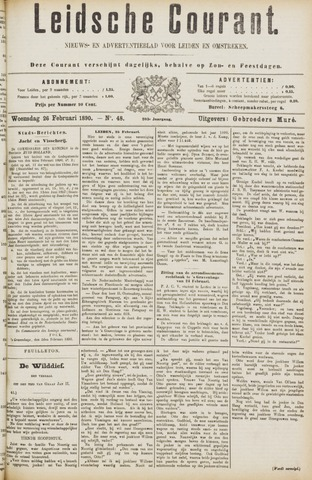 Leydse Courant 1890-02-26