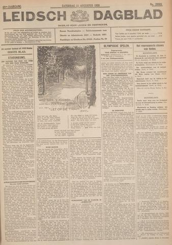 Leidsch Dagblad 1928-08-11