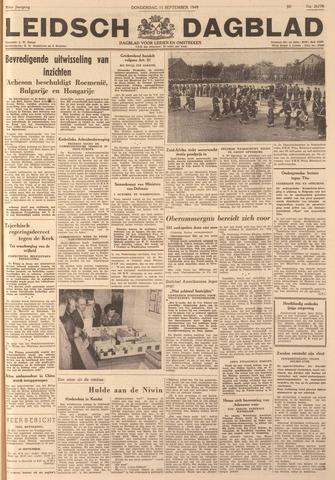 Leidsch Dagblad 1949-09-15