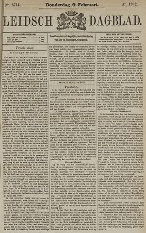 Leidsch Dagblad 1882-02-09