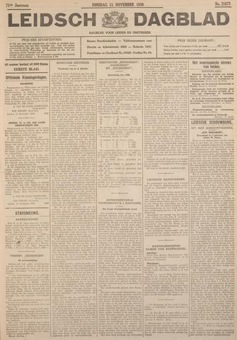 Leidsch Dagblad 1930-11-11