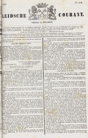 Leydse Courant 1871-11-24