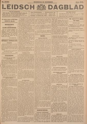 Leidsch Dagblad 1926-12-22