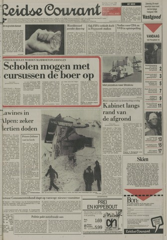 Leidse Courant 1988-03-14