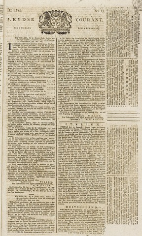 Leydse Courant 1815-02-08