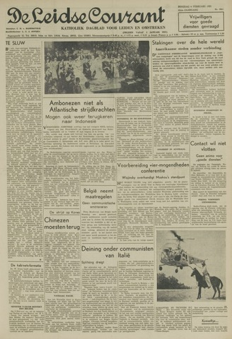 Leidse Courant 1951-02-06