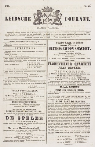 Leydse Courant 1876-01-17