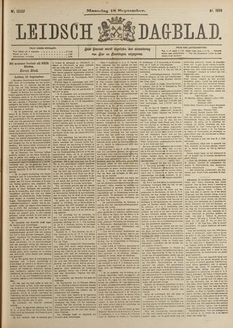 Leidsch Dagblad 1899-09-18
