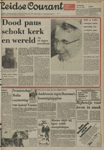 Leidse Courant 1978-09-29