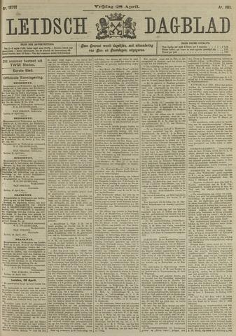 Leidsch Dagblad 1911-04-28