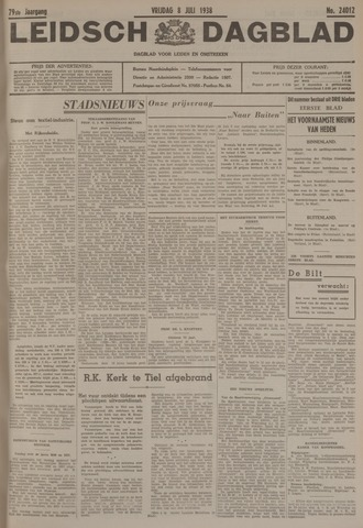 Leidsch Dagblad 1938-07-08