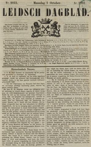 Leidsch Dagblad 1866-10-01