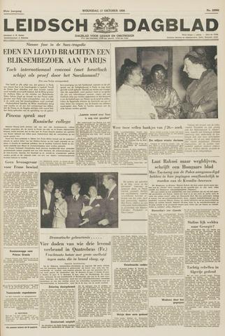 Leidsch Dagblad 1956-10-17