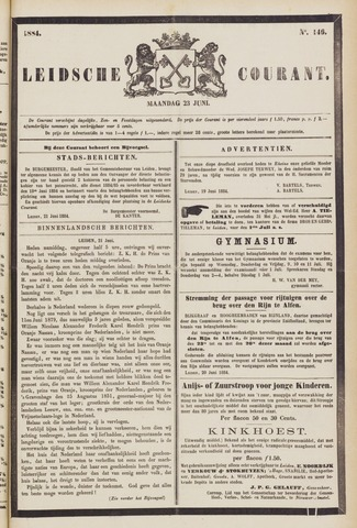 Leydse Courant 1884-06-23